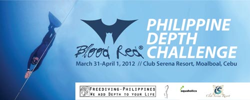 Blood Red Freediving Competition Philippines